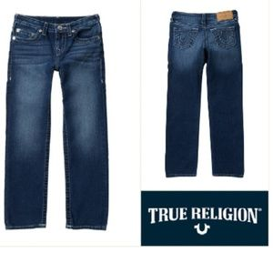 True Religion Slim Straight Jeans (Big Boys) TA14